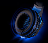 Gaming Headset Headphones with Mic + Estone X7 Mouse Optical 3200DPI PC Mice + Mousepad - Bluetooth Earphone - Youngerfan