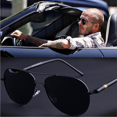 High Quality Aviator Polarized Sunglasses - Glasses - Youngerfan