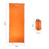 190 * 75cm Outdoor Envelope Ultralight Sleeping Bag - Sleeping Bag - Youngerfan