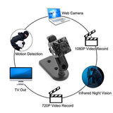 1080P HD IR Night Vision Motion Detection Portable Video Sports Camera - Camera - Youngerfan