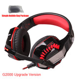G2000 Stereo Hifi Gaming Headphones - Headphones & Earphones - Youngerfan