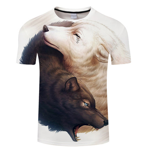 3D Animal Print Fashion T-shirts