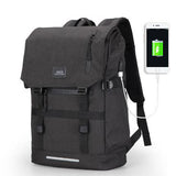 Large Capacity 15.6 Inch Laptop Bag Man USB Design Backpack - Bags - Youngerfan