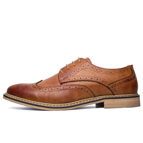Formal Business Oxfords Leather Flats
