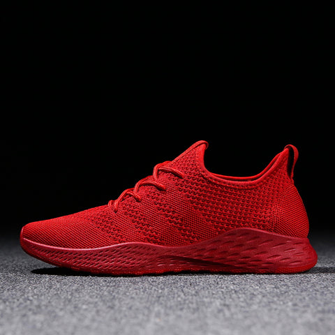Breathable Sneakers Non-slip Soft Mesh Men Shoes