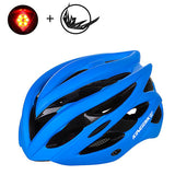 Bicycle helmet titanium ultralight with shade mirror - Helmet - Youngerfan