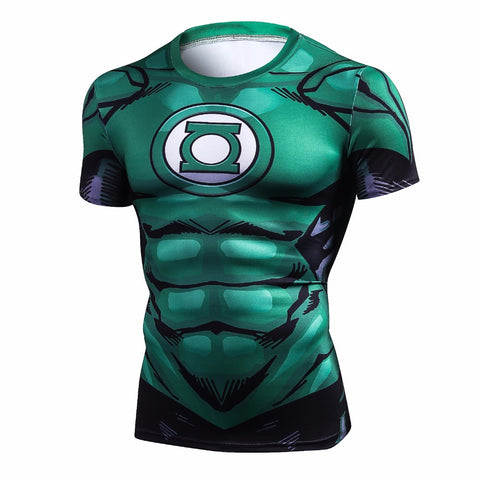 Super Hero Iron Men Short Sleeve T-Shirt - Men T-Shirt - Youngerfan