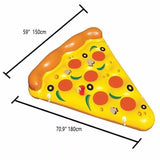 180*150cm Pizza Floating Bed Pool Game Pad - Swimming Pool - Youngerfan