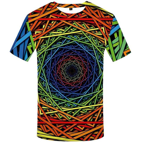 Colorful 3D T-shirt Fun