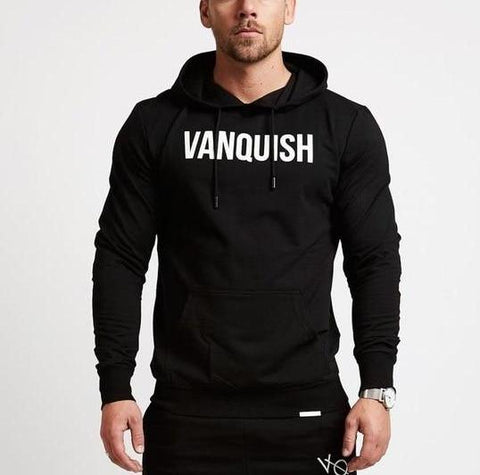 Fashion Casual Gyms Fitness Hooded Sweatshirts