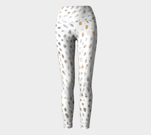 Daly X Active White Infinity Yoga Leggings