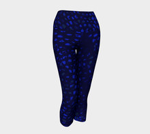 Daly X Active Blue Infinity Yoga Capris