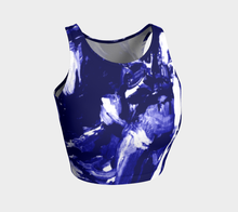 Daly X Active Blue Poles Crop Top