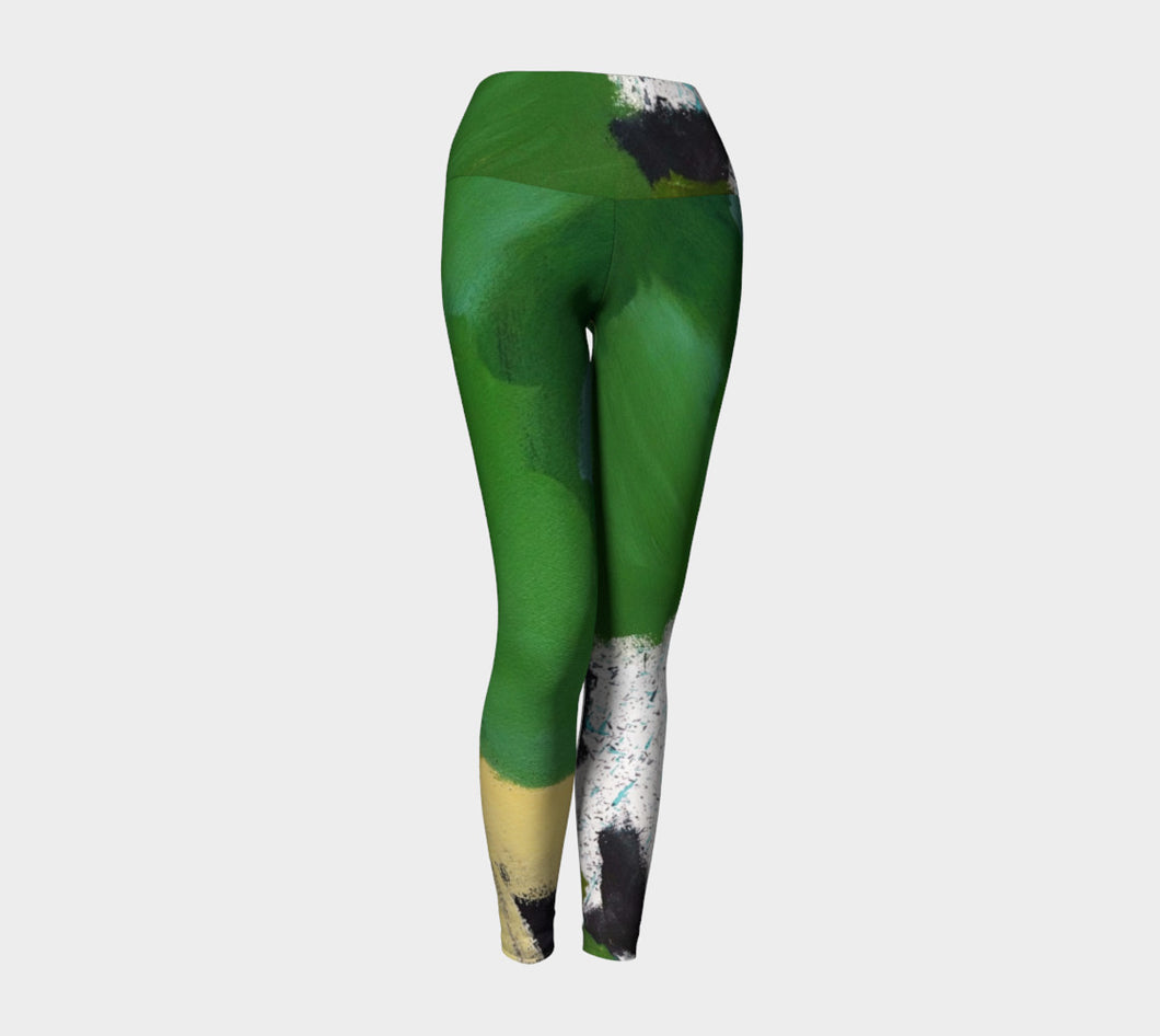 DALY X ACTIVE Mossy Green Yoga Leggings