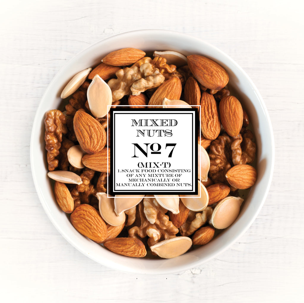VINTAGE NUTS LABELS