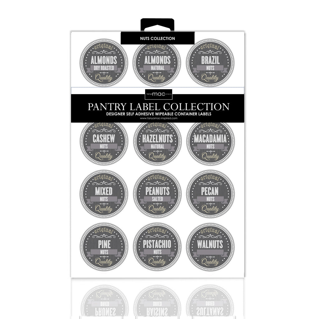 RETRO DISPLAY COLLECTION WITH HANG TAGS - SET OF 12