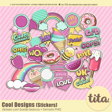 Cool Designs - Stickers
