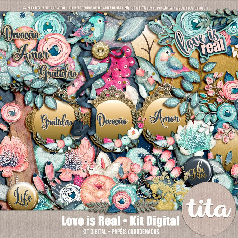 Love is Real - Kit Digital