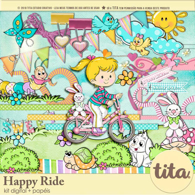 Happy Ride - Kit Digital