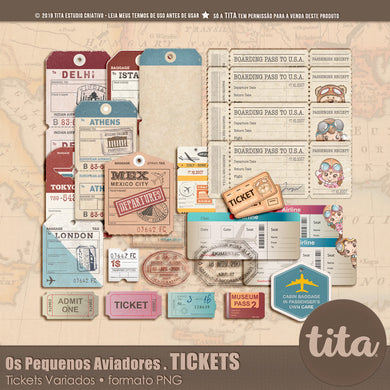 Os Pequenos Aviadores - Tickets