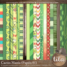 Cactos Mania - kit Digital 01