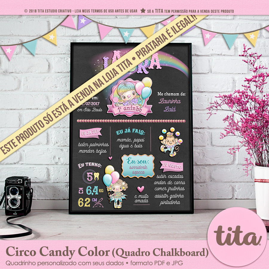 Circo Candy Color - Chalkboard