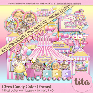 Circo Candy Color - Extras