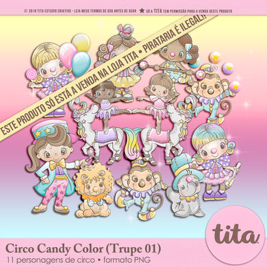 Circo Candy Color - Trupe 01
