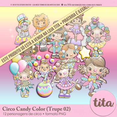 Circo Candy Color - Trupe 02