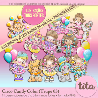 Circo Candy Color - Trupe 03