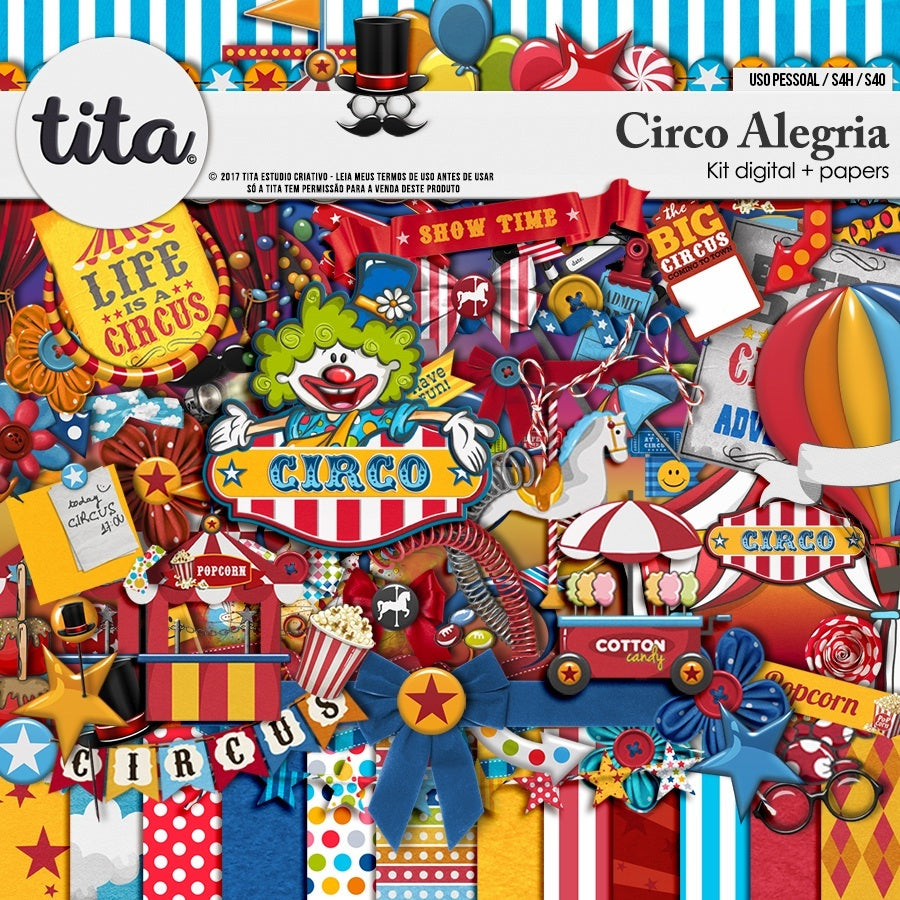 Circo Alegria - Kit digital