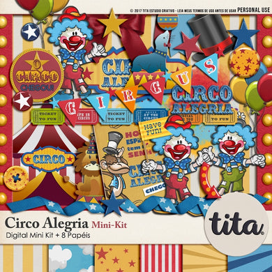 Circo Alegria - Mini Kit