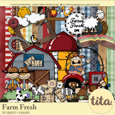 Farm Fresh - Kit Digital