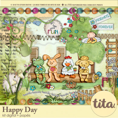 Happy Day - Kit Digital