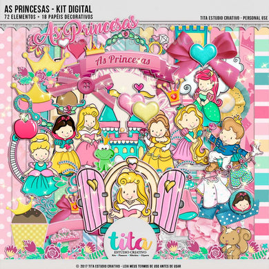 As Princesas - Kit Digital