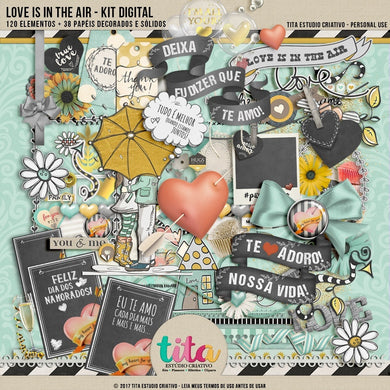 Love Is In The Air - Kit Digital