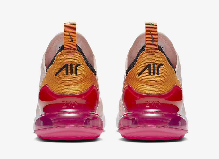 "New Ladies Air Max 270 ""Washed Coral"" Sneaker images"