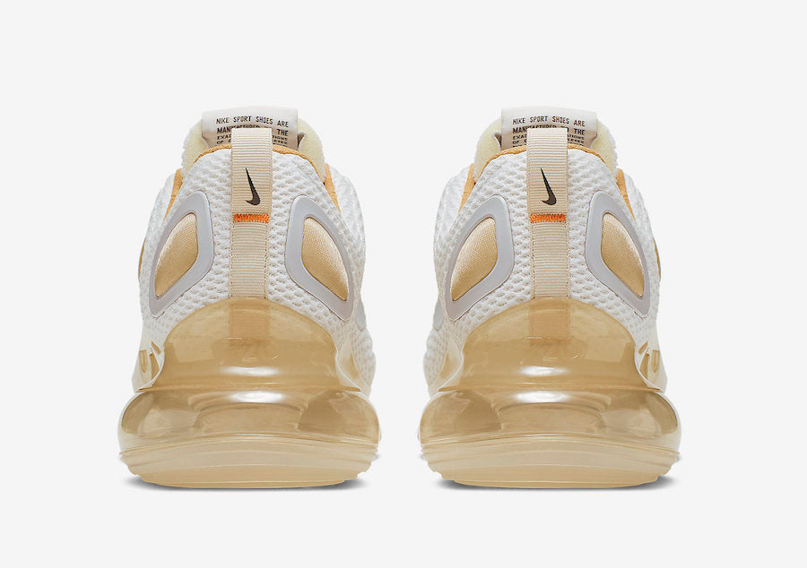 "New Nike Air Max 720 ""Pale Vanilla"" Sneaker images"