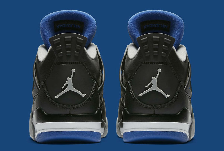 Air Jordan 4 Game Royal Motorsports away