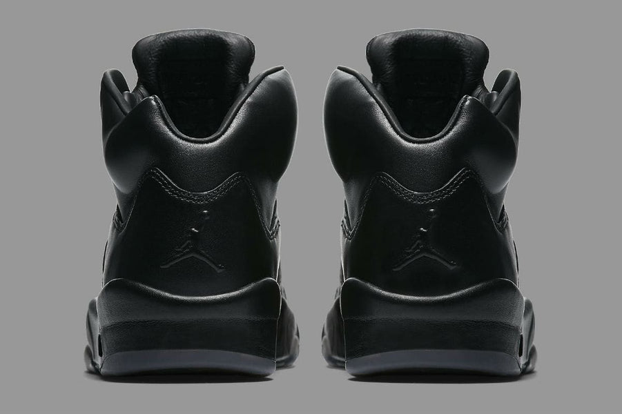Air Jordan 5 Premium Triple Black Sneakers