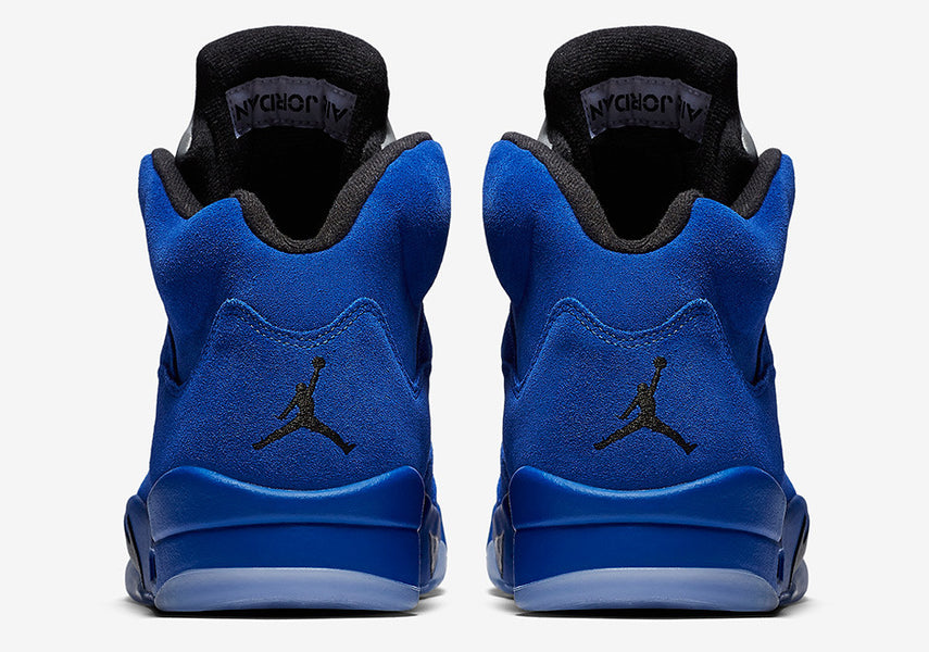 "New Air Jordan 5 ""Blue Suede"""