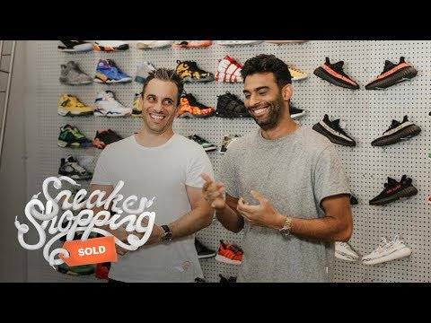 New Complex Sneaker shopping with Sebastian Maniscalco