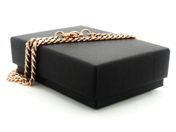 Rose gold thin chain anklet GIFT BOX