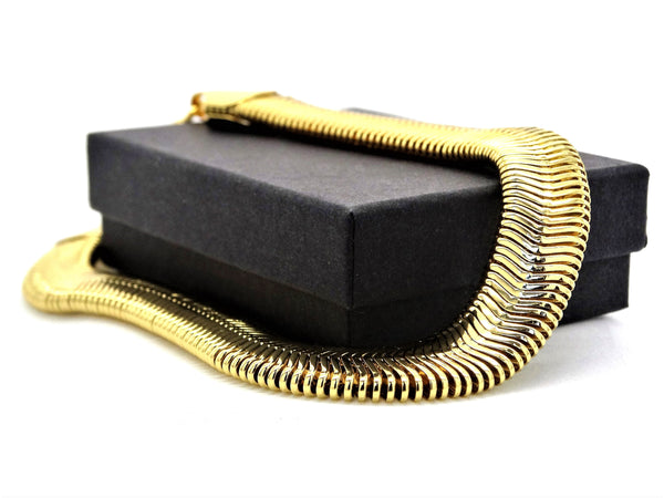 Gold snake chain bracelet GIFT BOX