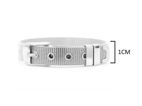 Sterling silver belt bracelet MEASUREMENT
