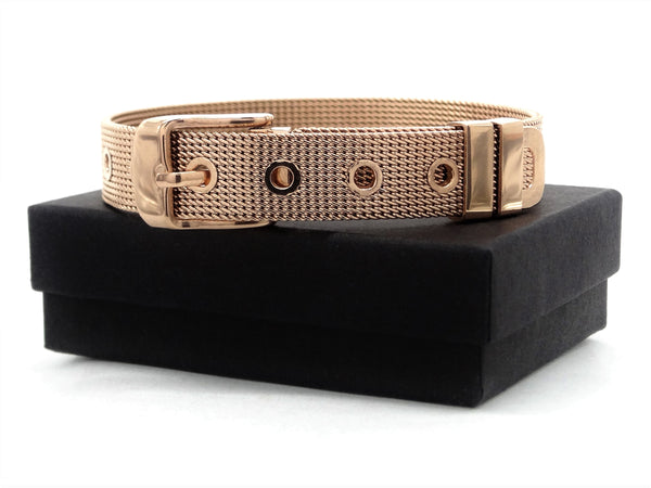 Rose gold belt bracelet GIFT BOX