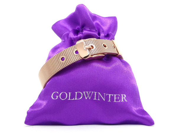 Rose gold belt bracelet GIFT BAG