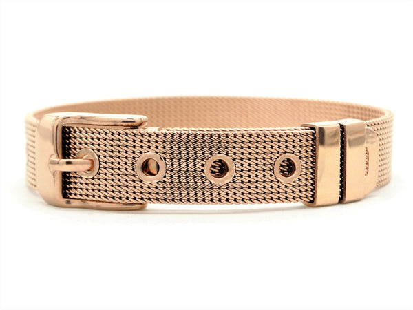 Rose gold belt bracelet MAIN