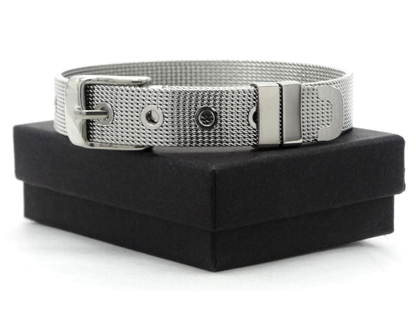 Stainless steel belt bracelet GIFT BOX