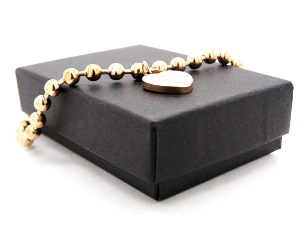 Rose gold love forever 520 bracelet GIFT BOX